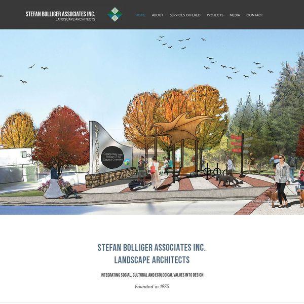 Stefan Bolliger Associates Inc. home page image.